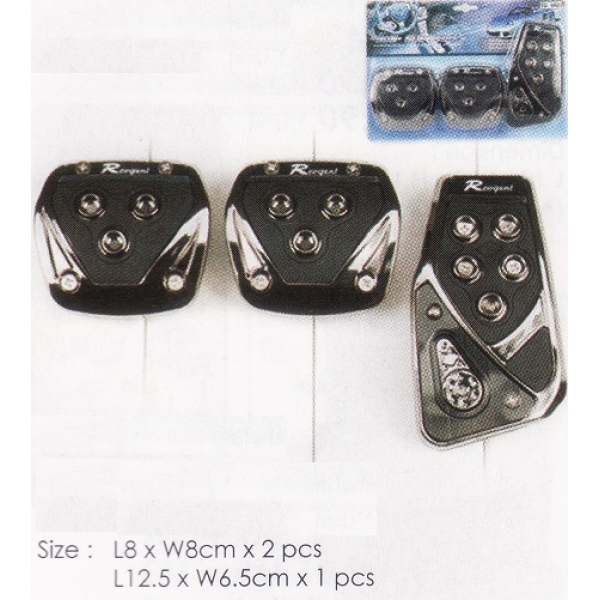 **CELLY**Non Slip Pedal Cover (Manual Car)