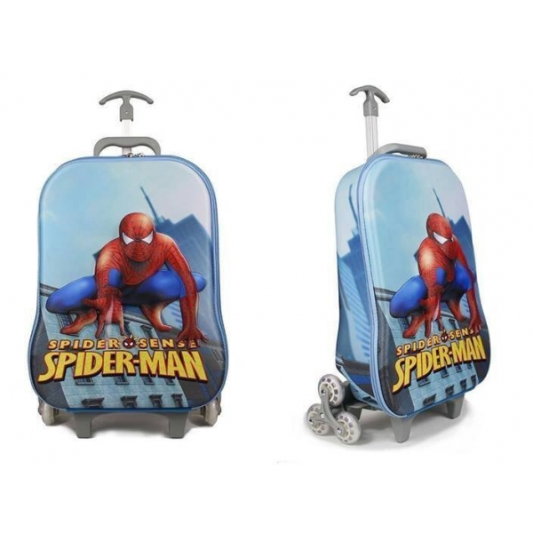 **CELLY** SPIDER-MAN 3D 3 WHEELS TROLLEY
