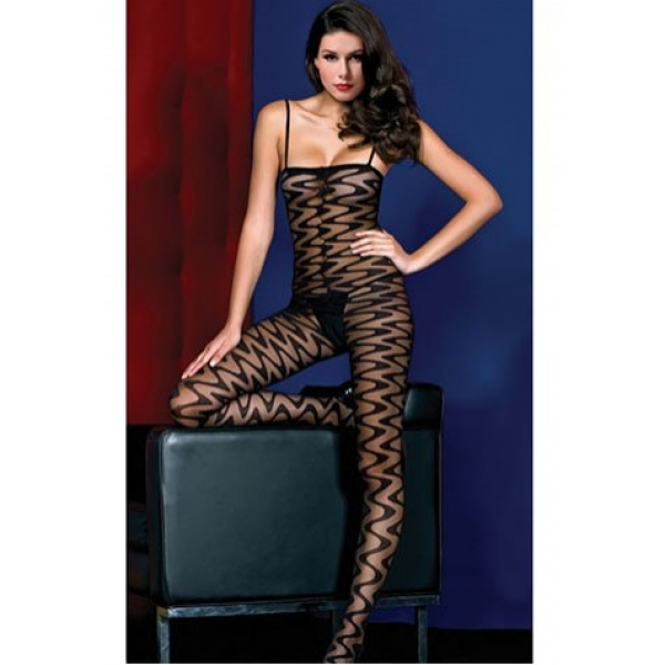 **CELLY** Swirl Bodystocking