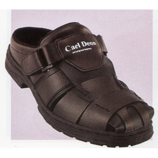 **CELLY**Up to Size 10 Men Sandal /Slipper(Coffee+Black)