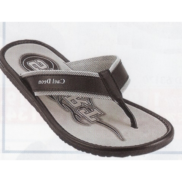 **CELLY**Up to Size 10 Men Sandal /Slipper(Grey)
