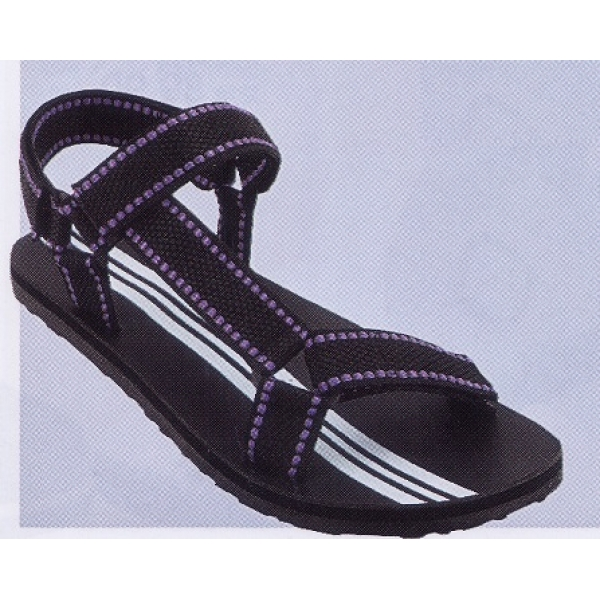 **CELLY**Up to Size 10 Men Sandal /Slipper(Purple+Black)