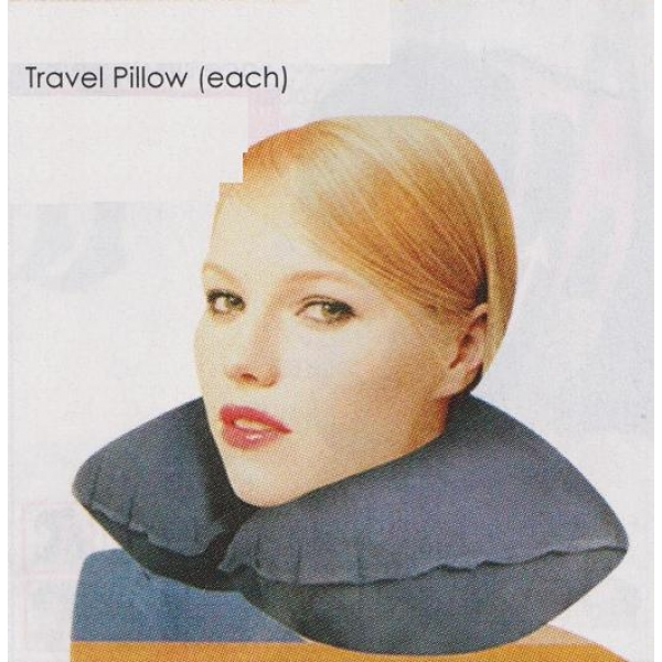 **CELLY**TRAVEL PILLOW (EACH) (??????)
