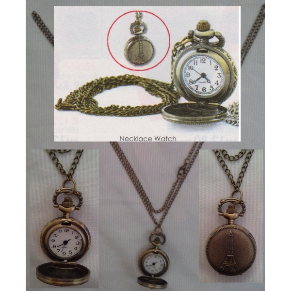 **CELLY** UNISEX NECKLACE WATCH