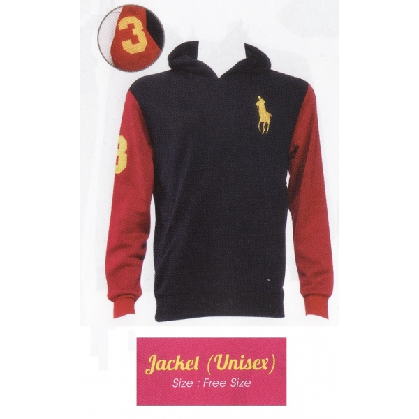 **CELLY** Unisex POLO Jacket with Hat