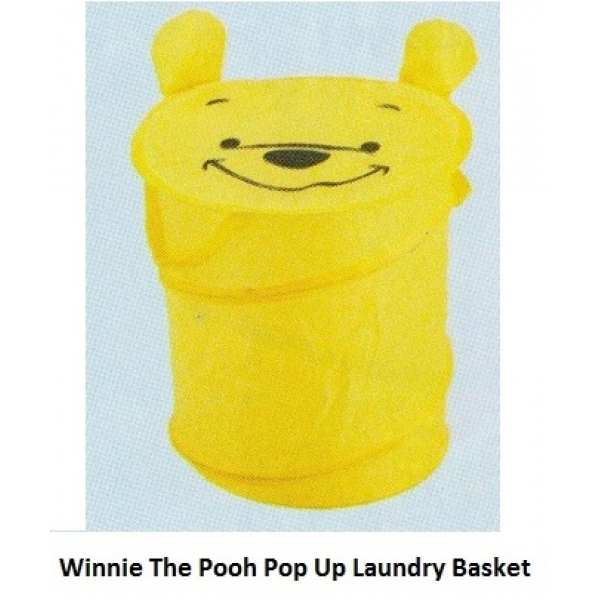 **CELLY**WINNIE THE POOH POP UP LAUNDRY BASKET