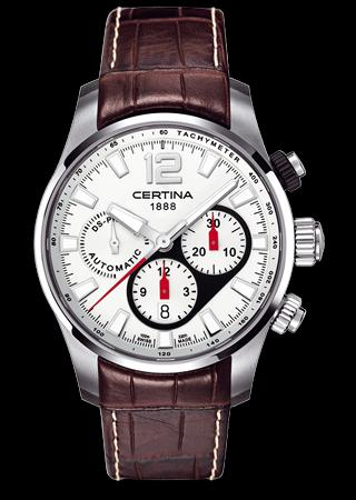 CERTINA C008.427.16.037.00 DS Prince Gent Chrono Automatic LSB Silver