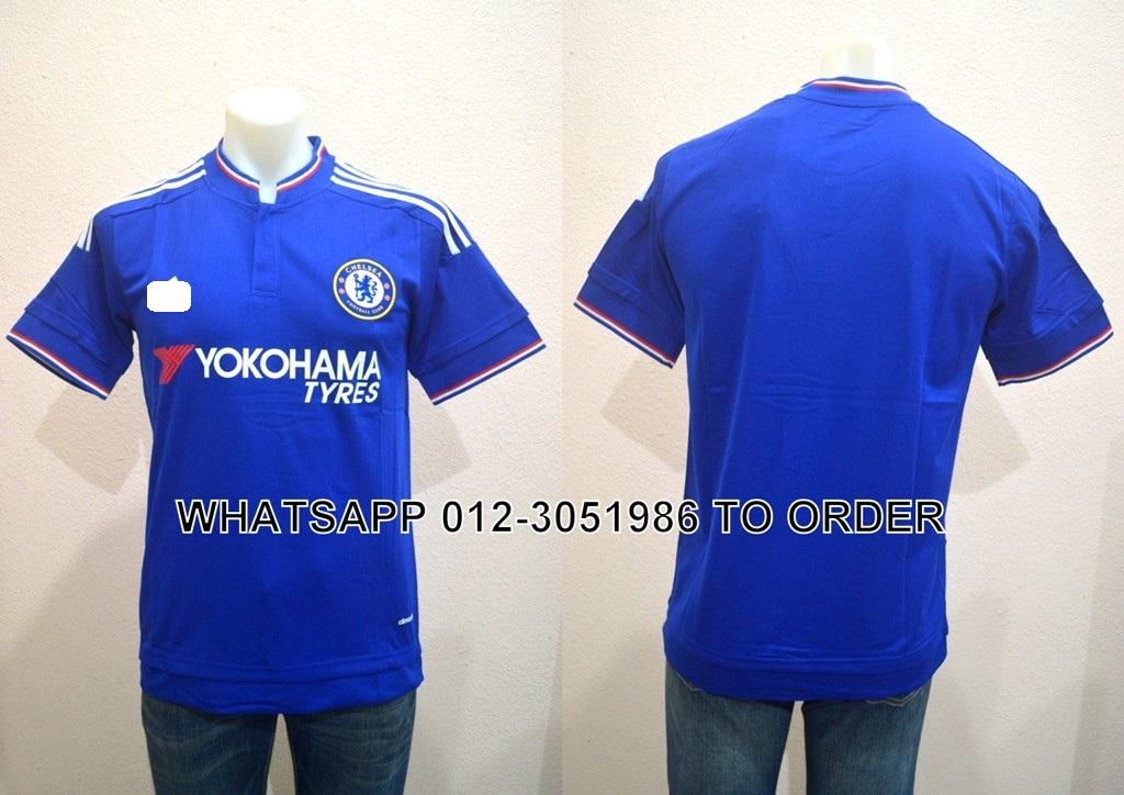 CFC The Blues Home 2015/2016 Jersey/Jersi