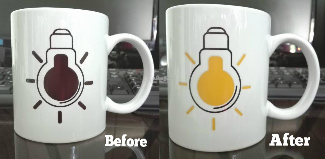 Changing Color Mug/ Magic Colour Change Mug
