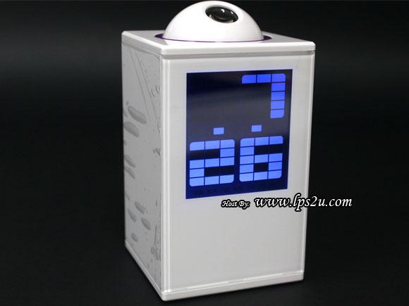 Charming Digital Projector LED Alarm Clock (HSD128A)