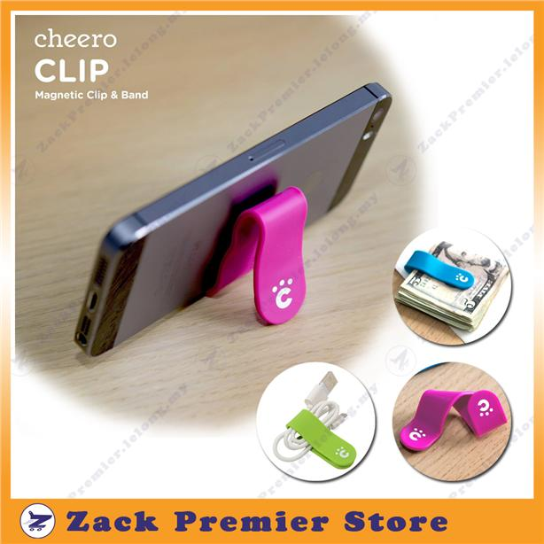 cheero M-CLIP (magnetic) - Lazy Stand and Multi-purpose clip organizer