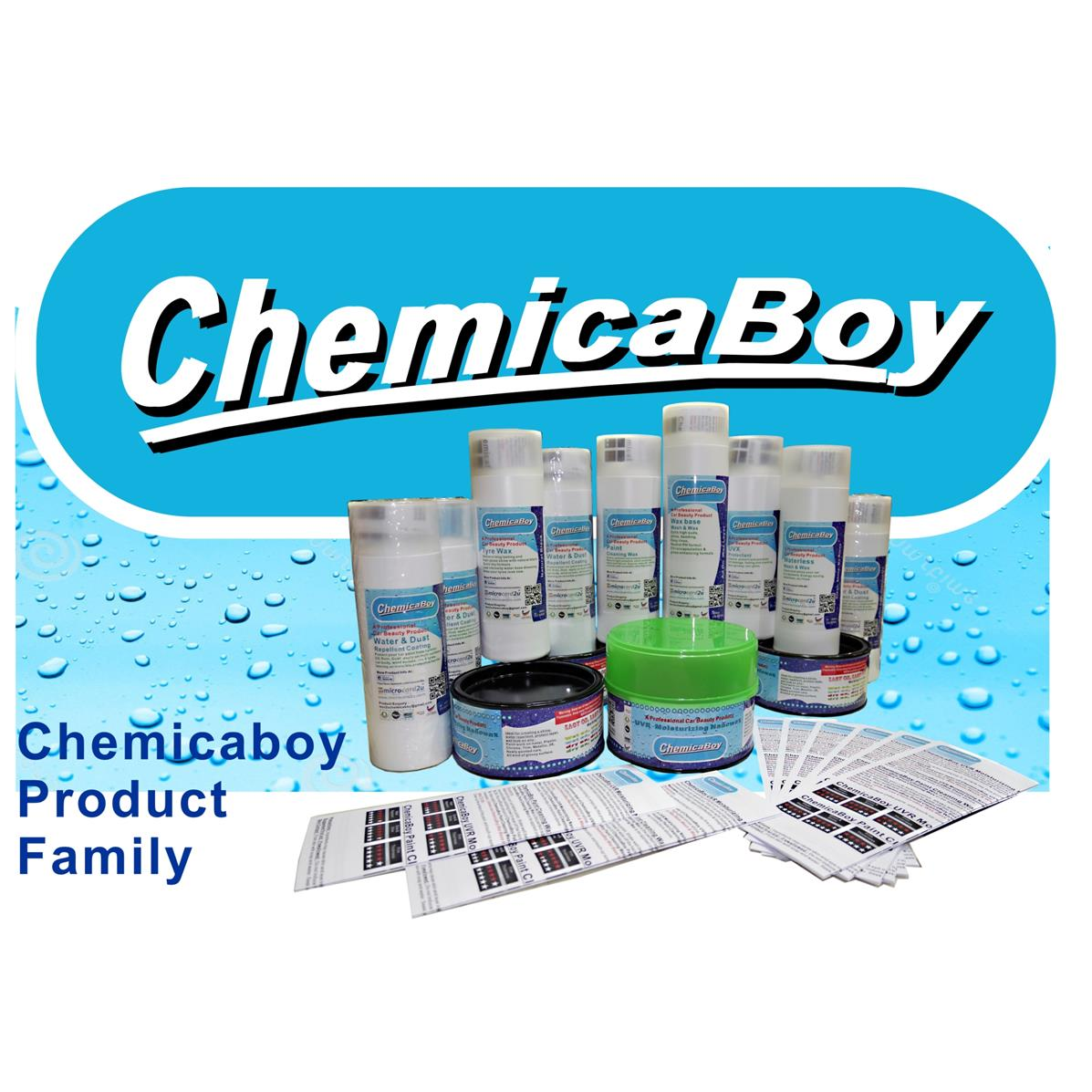 ChemicaBoy Tyre Wax - 30100001