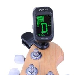 Cherub WST-2058B Chromatic Tuner for Guitar,Bass,Violin,Ukulele