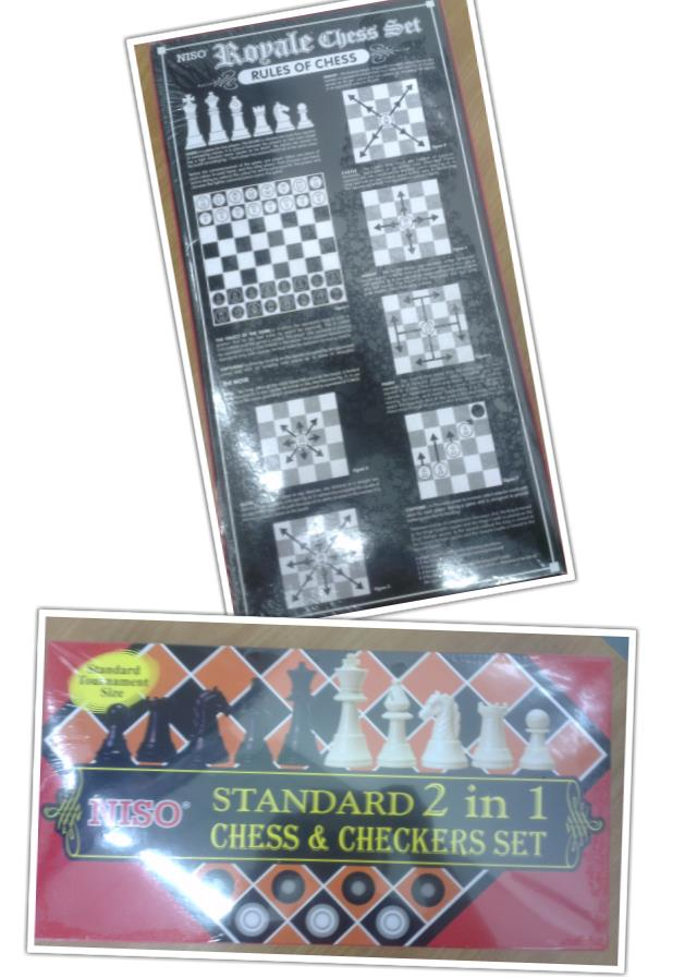 Chess & Checkers (2in1)