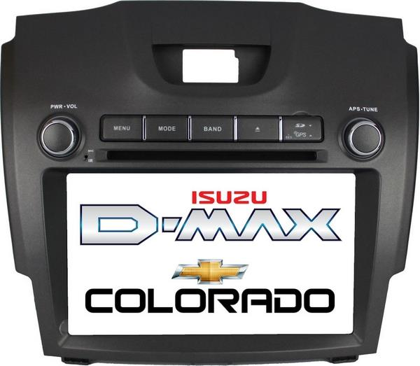 "CHEVROLET COLORADO 2012-16 DLAA 8"" Full HD Double Din GPS DVD Player"
