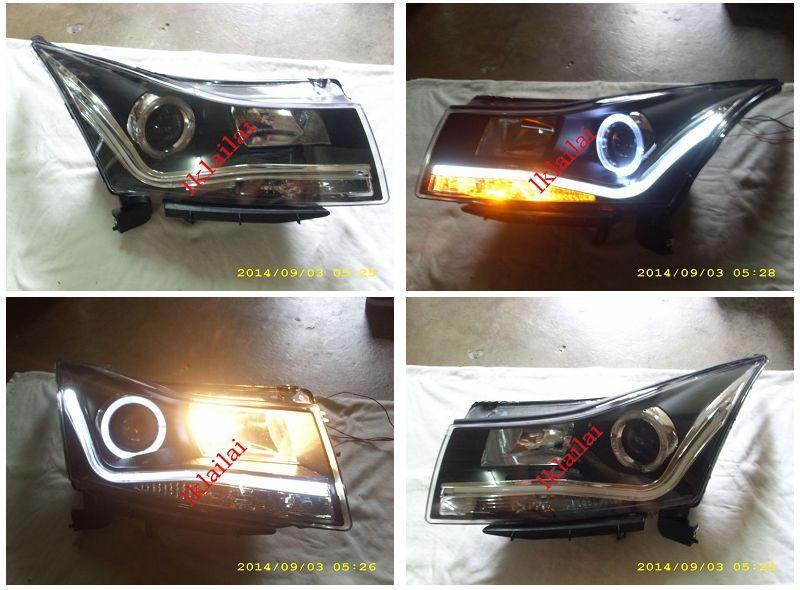 CHEVROLET CRUZE '08-11 LED Ring Projector HEAD LAMP DRL R8 [1-pair]