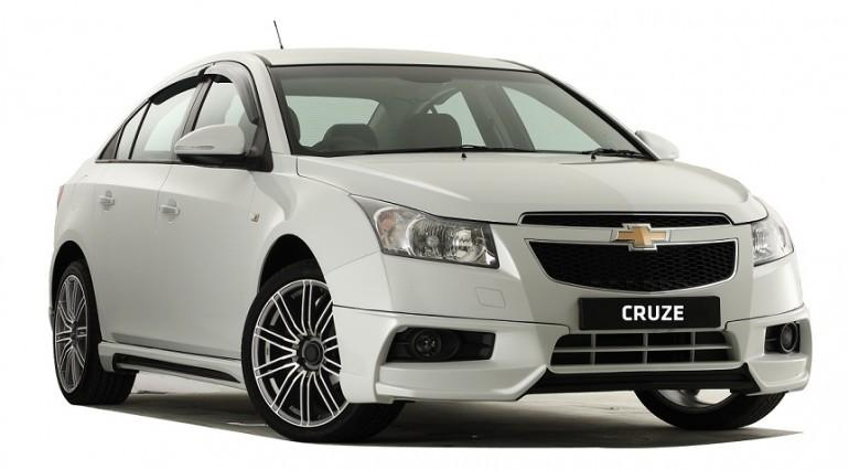 CHEVROLET CRUZE OEM BODYKIT SPOILER+SIDE SKIRT (PU)