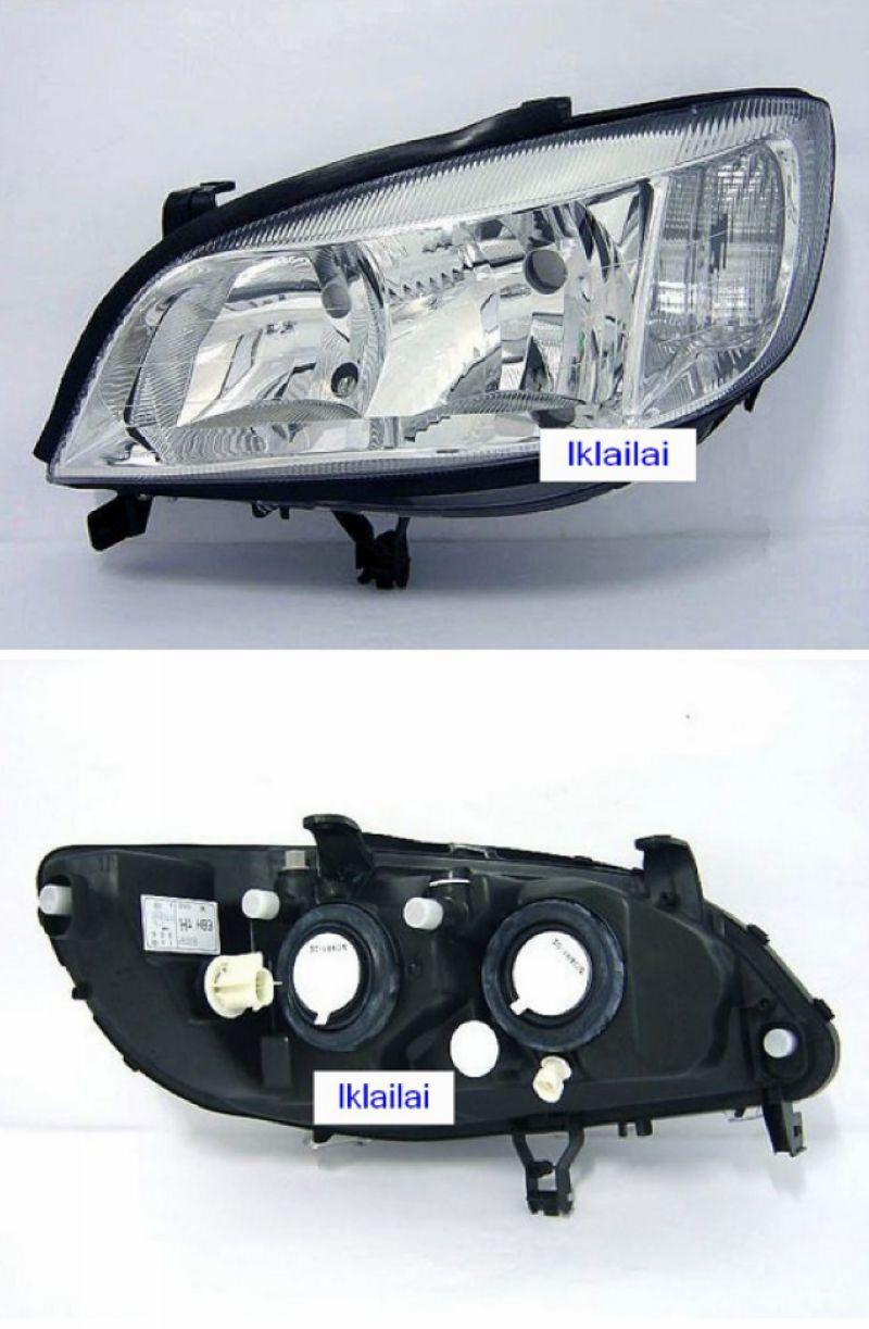 CHEVROLET OPEL NABIRA / ZAFIRA '02 Crystal Head Lamp [Original  Look]