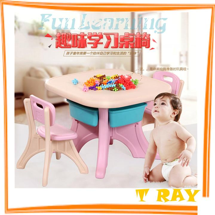 Child Learning Tables And Chairs Set