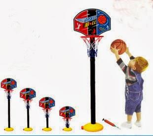 Children Kids Adjustable Basketball Set Stand - Outdoor & Indoor