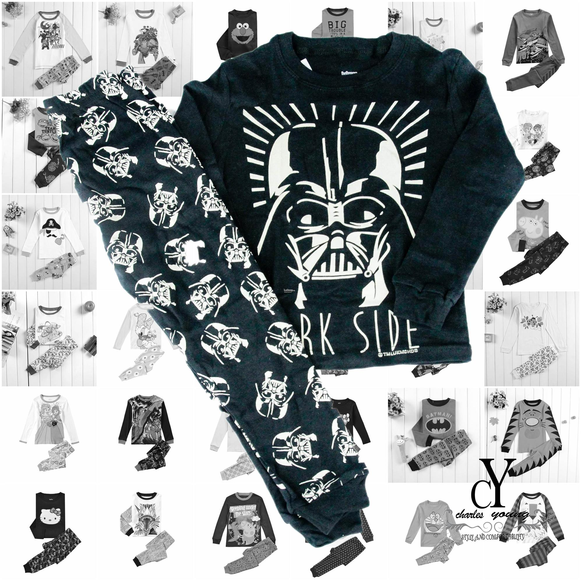 CHILDREN,PYJAMAS,TIDUR,CARTOON,DISNEY,COTTON,STARWAR,DARTH,VADER