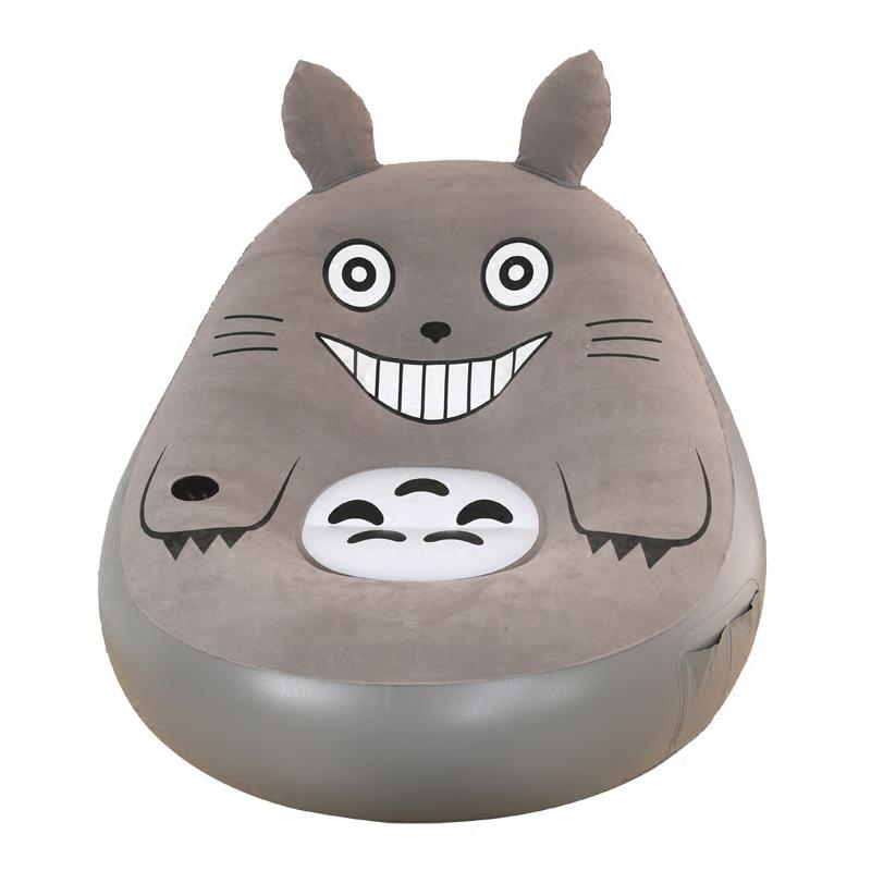 Chinchilla Totoro Portable Sofa Chair Decorative Living Room Bedroom