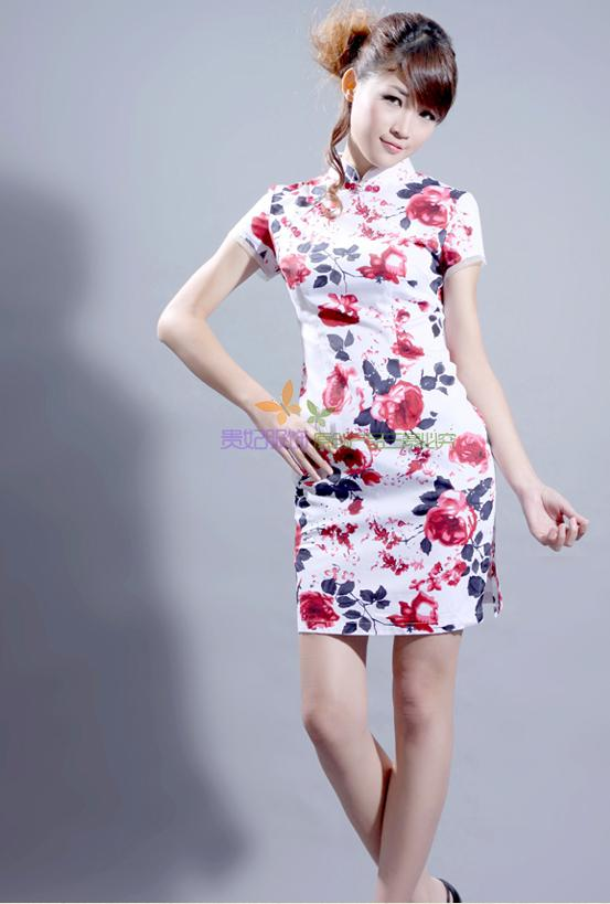 Chinese gown chinese traditional dress cheongsam party dress dinner