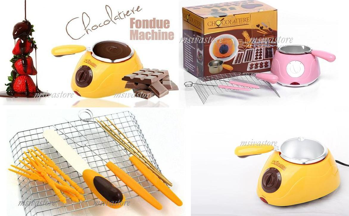 chocolatiere fondue machine decorating complete set moulds recipes selangor end time 11 4. Black Bedroom Furniture Sets. Home Design Ideas