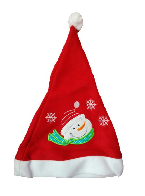 Christmas hat xmas hat santa claus LED light plain 12 pcs dozen