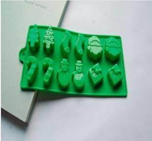 Christmas jelly silicone mould