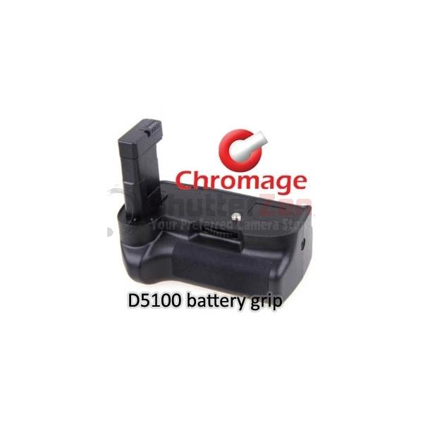 Chromage Nikon D5100 Battery Grip