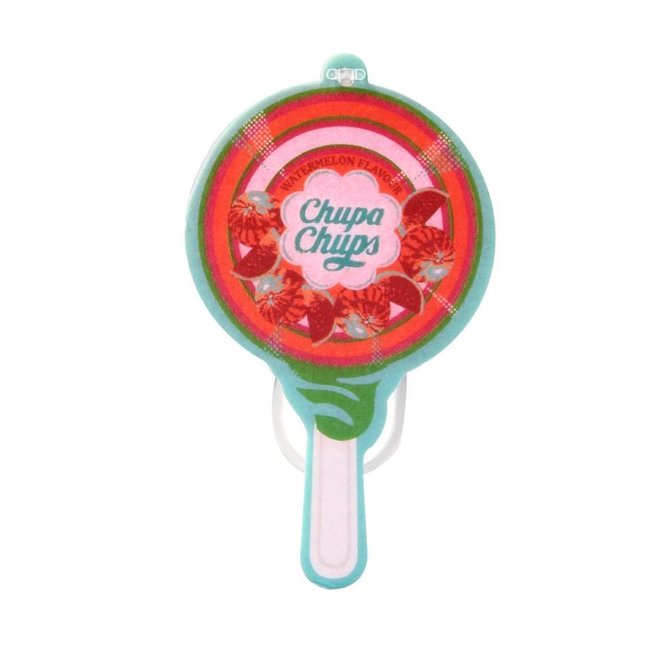 Chupa Chups Lollipop Paper Air Freshener Watermelon CHP701D