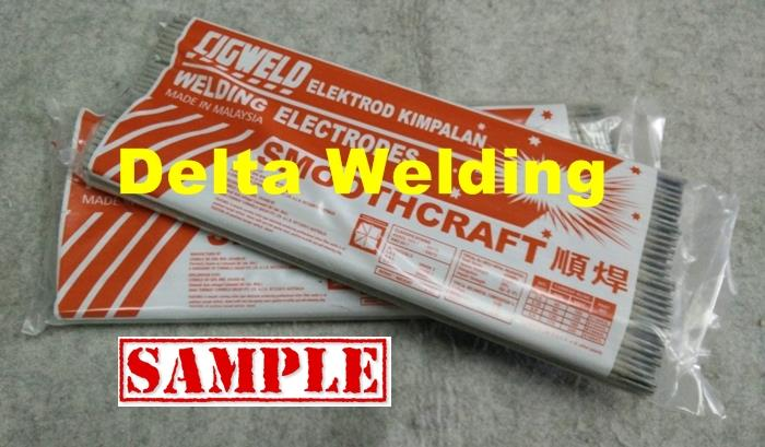Cigweld smoothcraft welding electrode Malaysia supplier ( 6013 ) 4.0mm