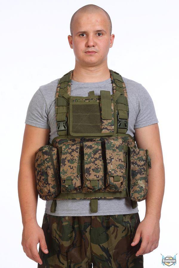 CIRAS TACTICAL ACTION VEST MOLLE (MARPAT)