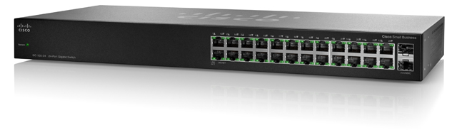 CISCO 24-PORT GIGABIT SWITCH (SR2024-UK/SR2024T-UK)