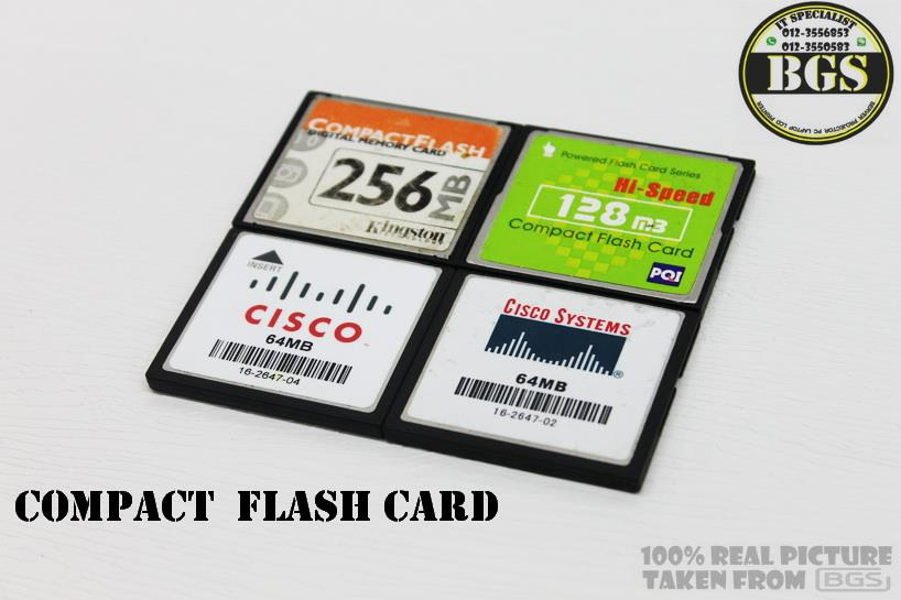 CISCO Compact Flash Card 64MB,128MB,256MB