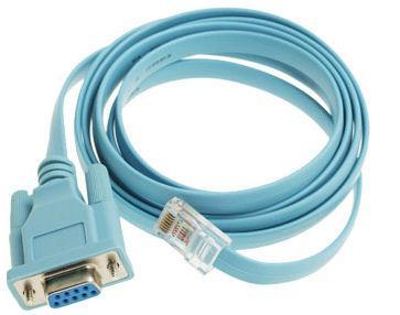 Cisco Console cable programming cable serial cable DB9 RJ45 72-3383-01