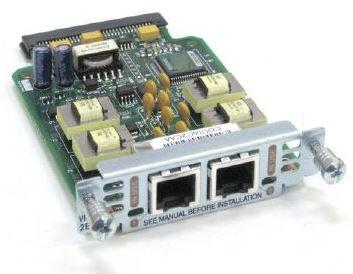 Cisco VIC-2E/M TWO-PORT VOICE INTERFACE CARD
