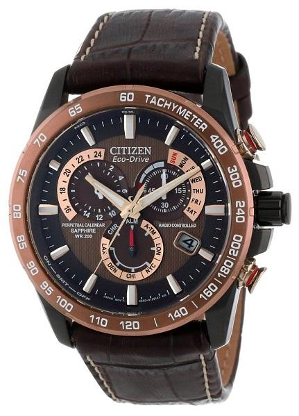 how to set time on citizen eco drive perpetual calendar