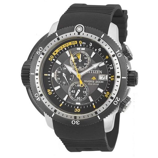 CITIZEN Eco-Drive Promaster Aqualand Chronograph Divers BJ2127-16E