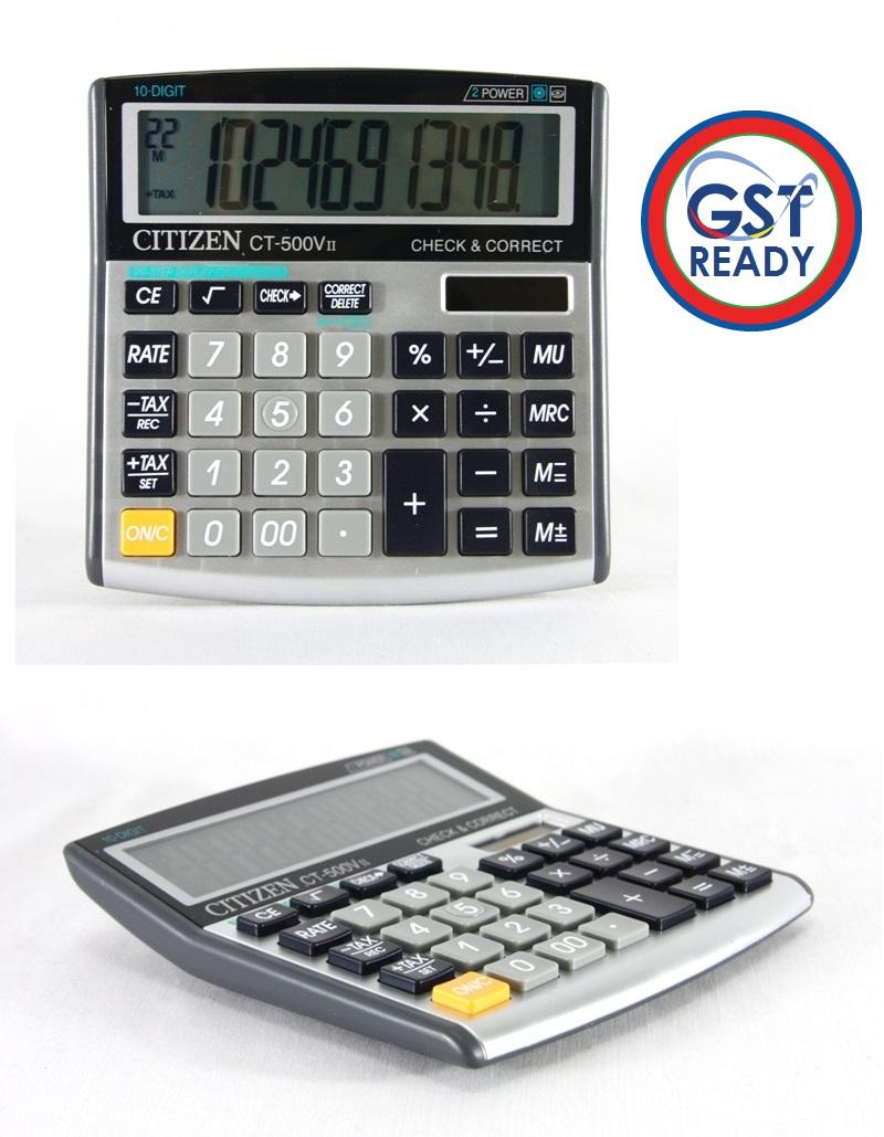 CITIZEN Electronic Calculator 10 Digit CT-500VII