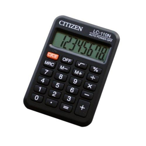 Citizen Electronic Calculator Pocket Series LC-110N