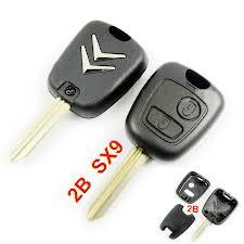 For Citroen Berlingo Picasso Saxo Xsara Remote Key Shell Case 2 button