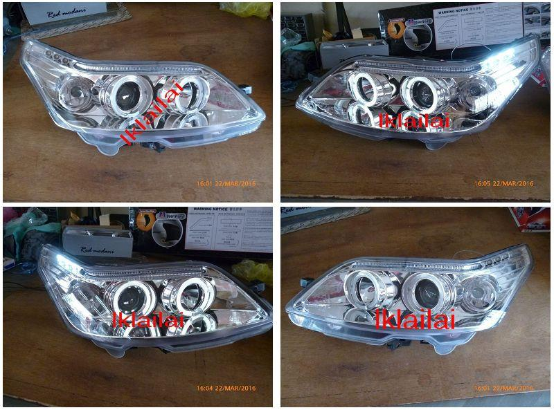 CITROEN C4 LED Ring Projector Head Lamp