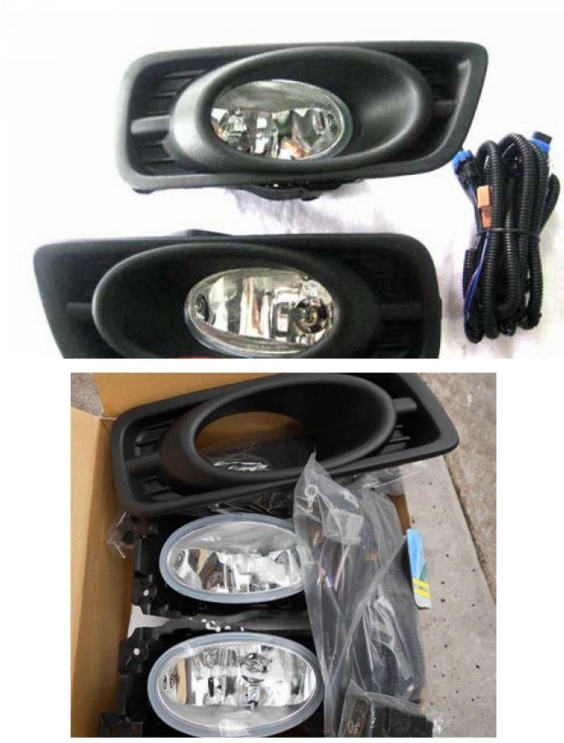 CITY 12 FOG LAMP W/Wiring and Switch