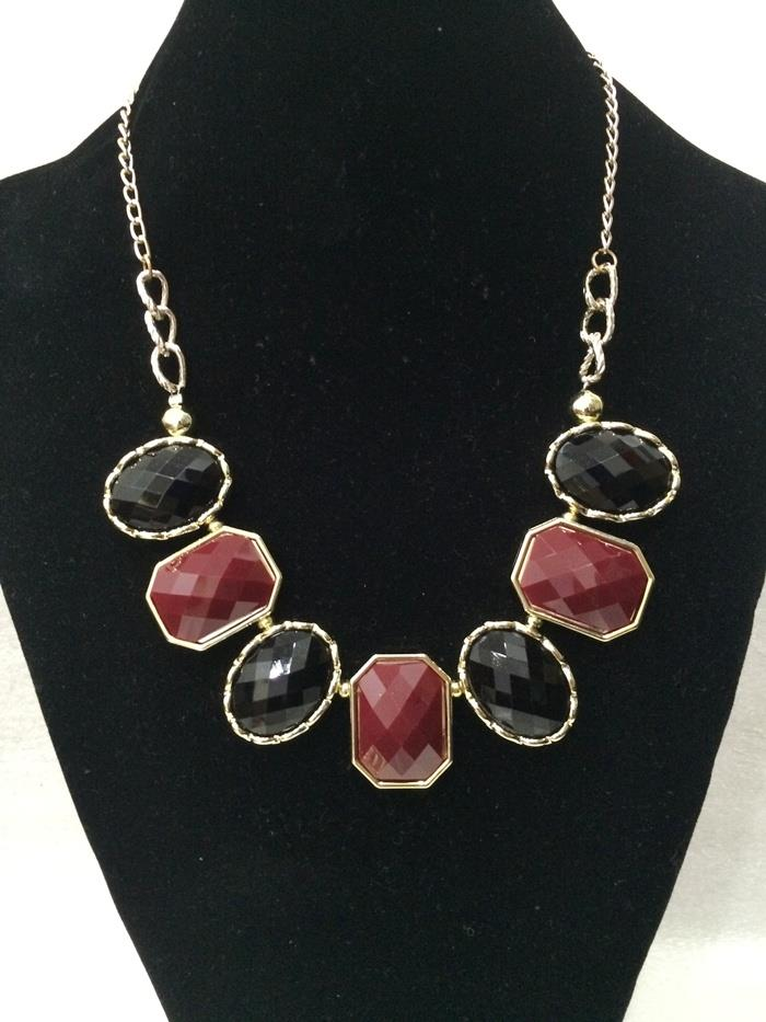 Classic Gemstone Necklace I (CLEARANCE SALE!) (Free Shipping)