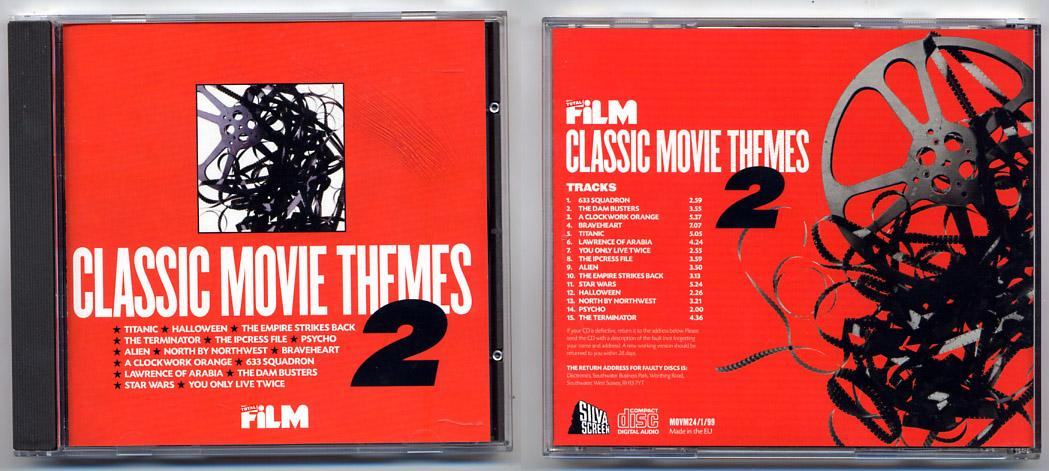 'Classic Movie Themes' CD