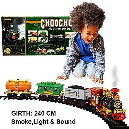 Classic Train With Emit Smoke