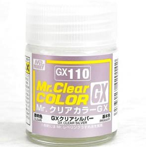 Mr Clear Color GX110 Clear Silver