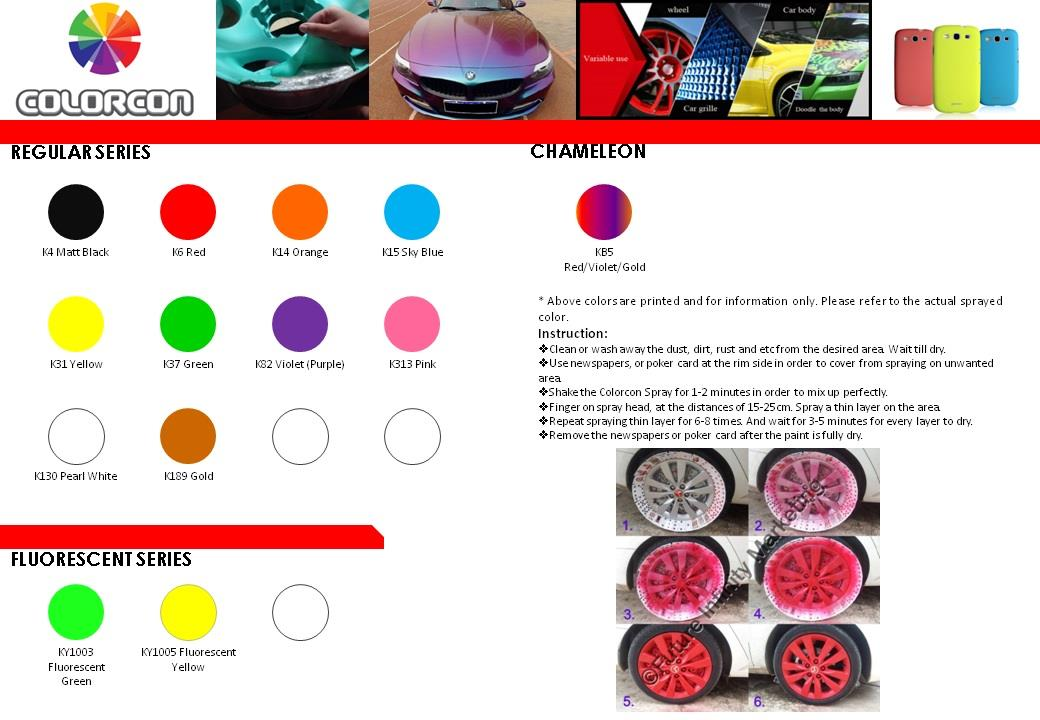 Jual Rubber Paint Silicon Rubber Spray Paint